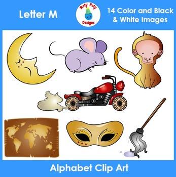 Letter M Clip Art Set
