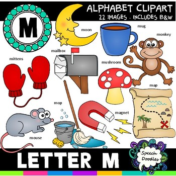 Letter M Clipart - 20 images! Personal or Commercial use