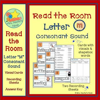 Letter M Consonant Sound Read the Room
