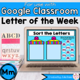 Letter M Digital Phonics Activities for Google Classroom Distance Learning