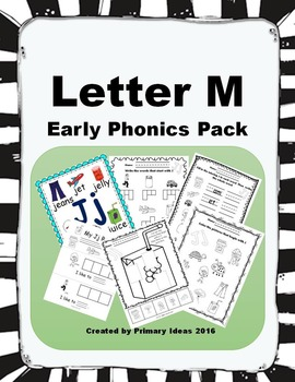 Letter M: Early Phonics Pack