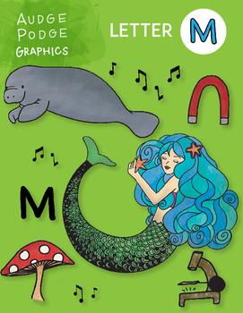 Letter M Graphics