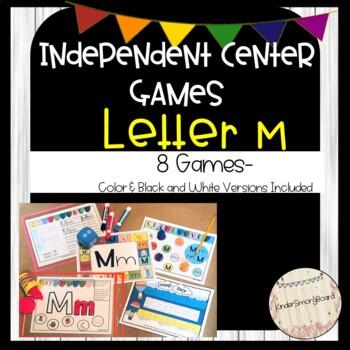 Letter M Games Worksheets Teachers Pay Teachers