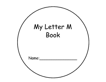 Letter M Interactive Reader