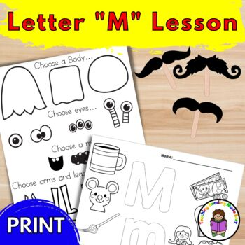 Letter M Lesson Plans and Activities