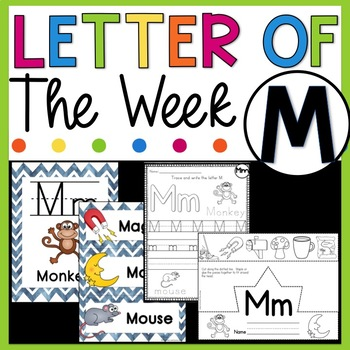 Letter M - Letter of the Week M - Letter of the Day M