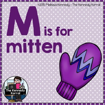 Letter M is for Mitten