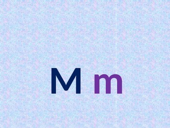 Letter M PowerPoint