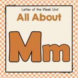 Letter M- Preschool Letter of the Week Unit