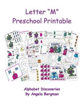 Letter M - Preschool Unit