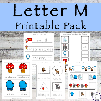 Letter M Printable Pack