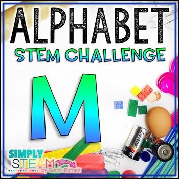 Letter M STEM Challenge | Letter M Activities