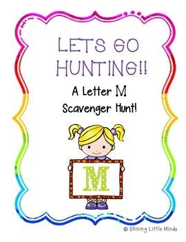 Letter M Scavenger Hunt