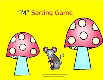 Letter M Sorting Game