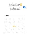 Letter M Workbook. Phonics. Spelling. Reading. ELA. ESL. Internet. Online.