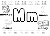 Letter M Worksheets!