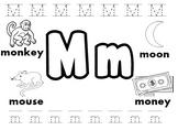 Letter M Worksheets!
