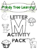 Letter M activity pack Freebie!