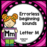 Letter M adapted book errorless learning