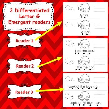 Letter C  activities (emergent readers, word work worksheets, centers)
