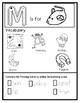Letter M from the Alphabet Mega Bundle/Letter of the Week