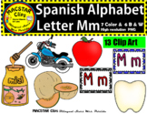 Letter M m Spanish Alphabet Clip Art   Letra Mm Personal and Commercial Use