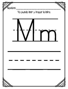 Aprendiendo la letra M