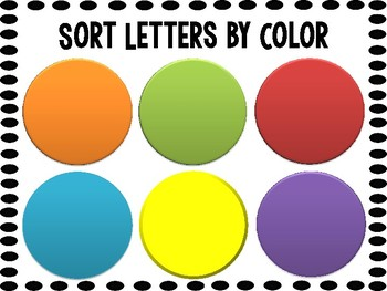 Letter Magnet Activities