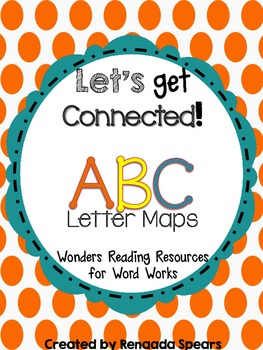 Letter Maps: McGraw-Hill Reading WONDERS Resource