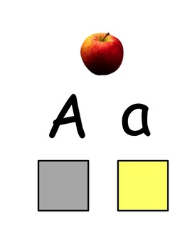 Letter Match-Alphabet- Upper and Lower case-Literacy Center Idea!