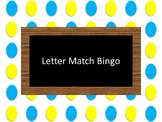 Letter Match Bingo
