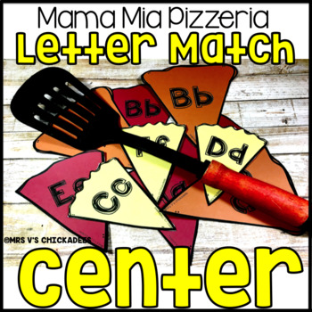 Letter Match Center Game