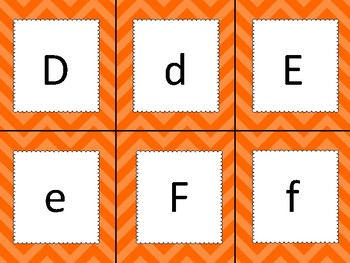 Letter Match Freebie