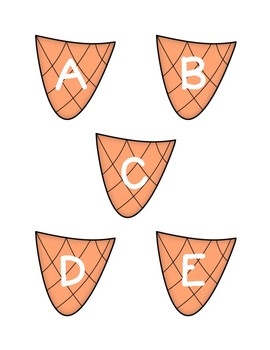 SUMMER Letter Match GAME - Ice Cream Cone