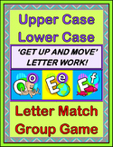 """Letter Match!"" -- Group Game for Upper Case and Lower Case Letters"