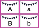 Letter Match Plain with Student Recording Sheet