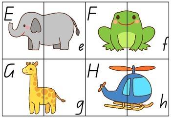 Letter Match Puzzle