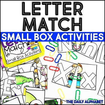 Letter Match: Small Box Activities
