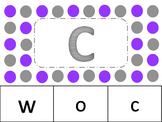 Letter Match Task Cards