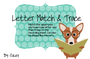 Letter Match & Trace