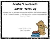 Letter Match Up - Dog Theme