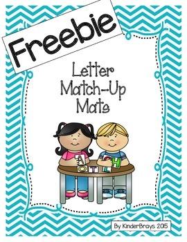 Letter Match-Up Mats FREEBIE