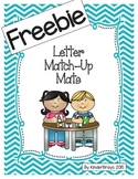 Letter Match-Up Mats FREEBIE