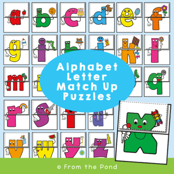 Letters Game - Letter Match Up