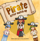 Letter Match - Upper and lowercase (Pirate theme)