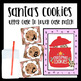 Letter Matching - 3 Activities Included (Santa's Cookies)
