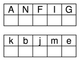 Letter Matching A-N capital and lowercase