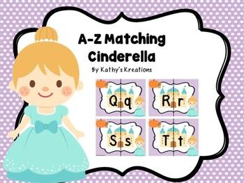 Letter Matching A-Z Cinderella Dollar Deal