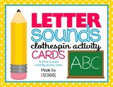 Letter Matching Activity Cards