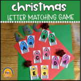 Letter Matching Christmas Theme